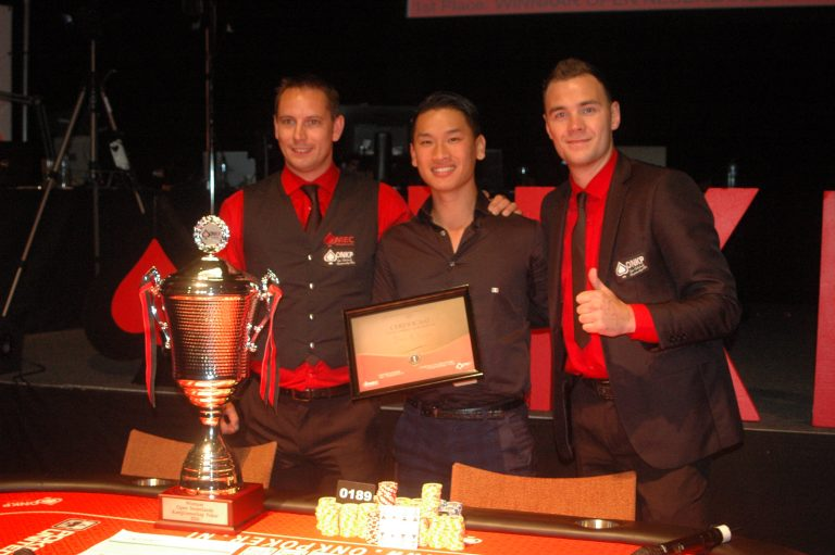 Binh an Nguyen winnaar Open Nederlands Kampioenschap Poker 2016