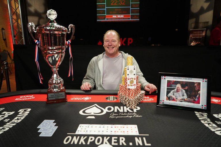 Dan Korver kampioen Open Nederlands Kampioenschap Poker