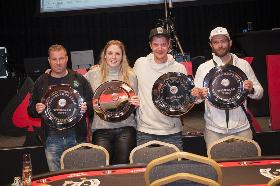 Nederlands Kampioen Team Poker 2017 Team Radical
